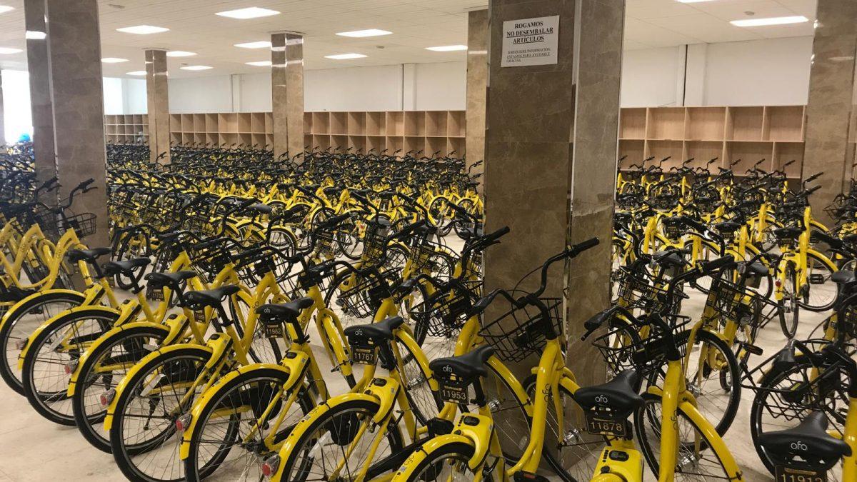 El fin del sueño chino de las bicis de alquiler